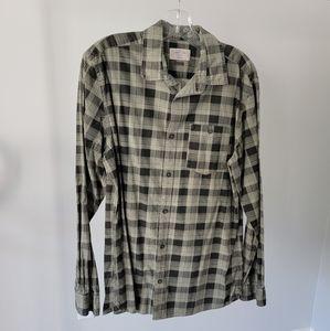Jack & Jones Plaid Button Down Shirt And Tank Lot